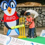 RiFO welcomes the little enthusiast to give Blind Cricket a shot