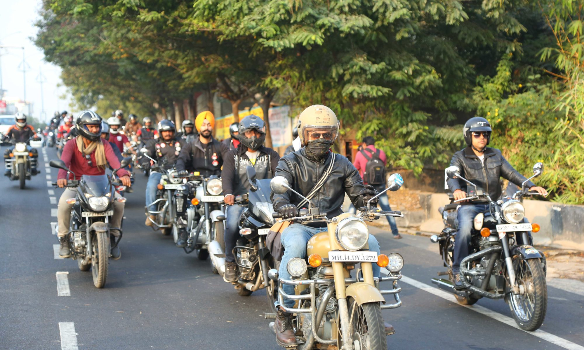 The Bikers ride on to spread awareness