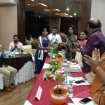Chief Guests felicitating employers
