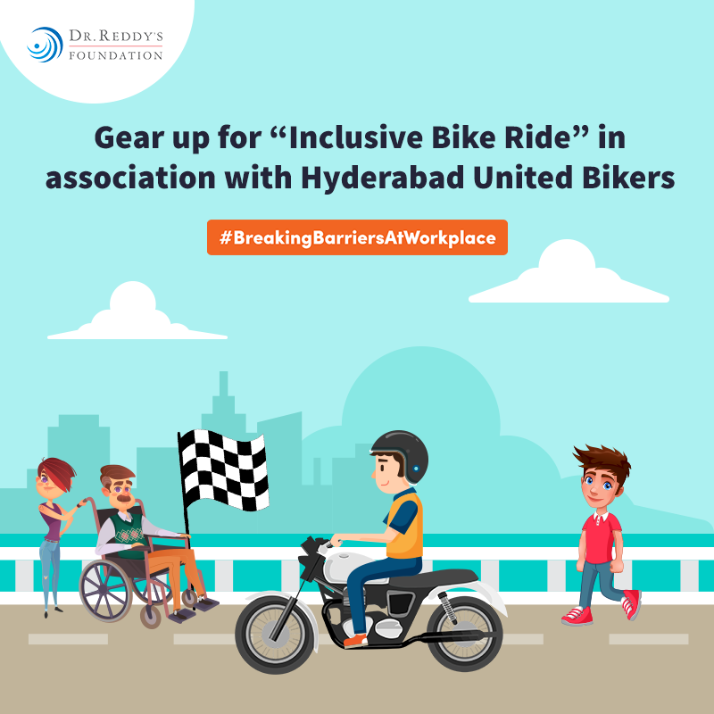 Inclusive Bike Ride – Curtain Raiser banner