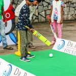 Inclusion starts early - the little master tries his hand at blind Cricket