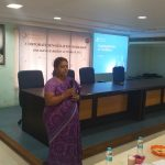 Mrs Sree Lakshmi - Program Manage, GROW PwD, sets the tone for the workshop