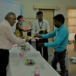 Our Students Welcome our Chief Guest