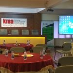 The stage is set for the first Corporate Sensitization Workshop @ Kerala Management Association, Kochi